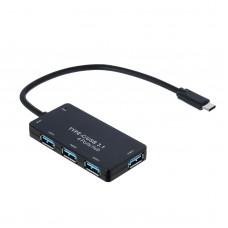 Hub AK-AD-52 USB type C / USB 3.1 4-port