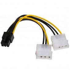 Adapter 2x Molex/PCI-Express 6-pin AK-CA-13