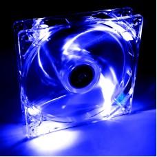 Fan 120mm MOELX 4 LED kék AW-12A-BL